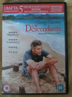 The Descendants - George Clooney - Region 2 dvd