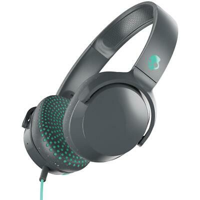Skullcandy Riff On-Ear Wired Headphones with Microphone in Gray