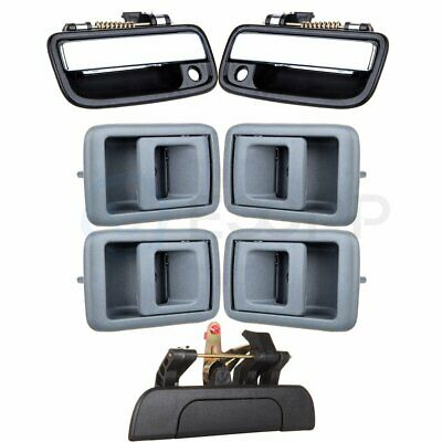 Exterior Door Handle Kit For 95-2000 Toyota Tacoma Front Left and Right 4Pc Car & Truck Parts Auto Parts and Vehicles