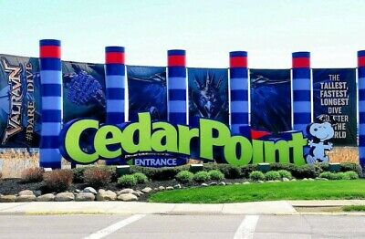 (4) Four Tickets to Cedar Point / Fast Shipping / Low Price