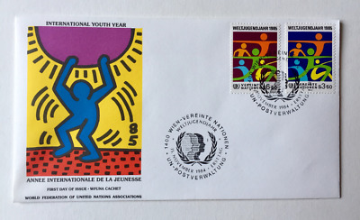 Keith Haring WFUNA First Day Cover, GREAT PRICE