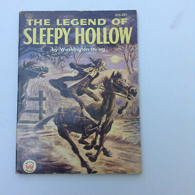 The Legend of Sleepy Hollow By Washington Irving (PC) 1955
