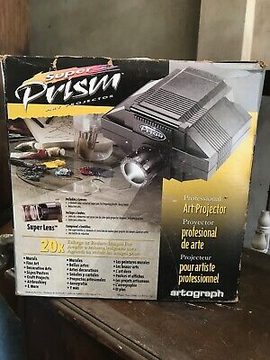Prism Art Projector for enlarging artworks onto canvas and murals