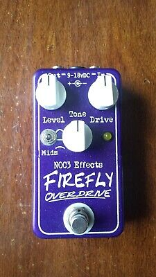 NOC3 Effects Firefly Overdrive Pedal