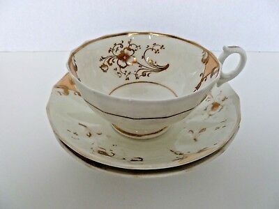 Vintage Large China Saucers and Cup - See Description & Images