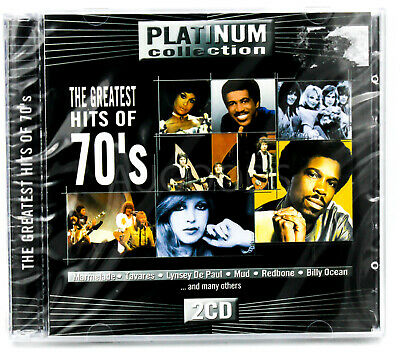 Platinum Collection - The Greatest Hits of the 70's MUSIC CD NEW SEALED