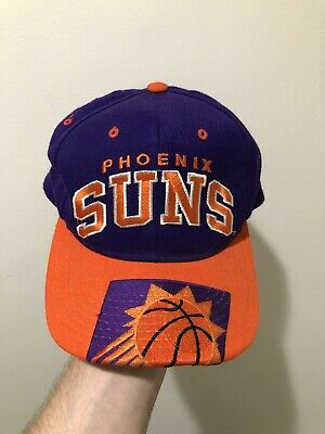80bebec1b VINTAGE PHOENIX SUNS Men's Snapback Hat NWT USA MADE by AJD 90s RARE ...