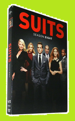 New & Sealed Suits Season 8 Eight (DVD, 4-Disc Set) Free Shipping