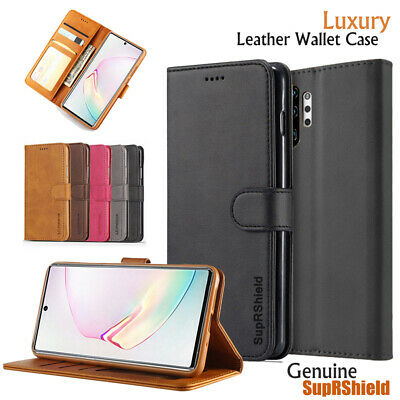 Samsung Galaxy Note10+ Plus 5G Note8 9 S6 S7 Edge Wallet Case Leather Flip Cover
