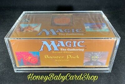 MTG Revised 3rd Edition English Booster Box Brand New Factory Sealed Free Ship.
