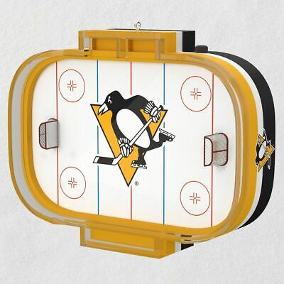 2019 Hallmark NHL Pittsburgh Penguins Ornament With Sound