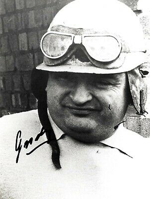 Jose Froilan Gonzalez - Argentinian Formula 1 Driver In Person Signed Photograph