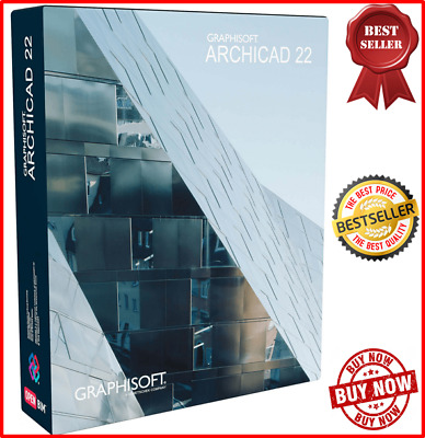 ARCHICAD 22 Build 6001 New ✔ Full Activation✔Fast Delivery+ BIG OFF 75% Lifetime