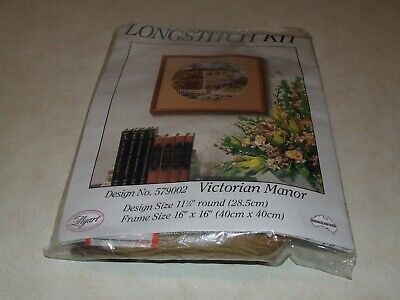 Myart Long Stitch Kit - Victorian Manor - New