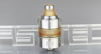 Coppervape Hussar Project X Styled MTL RTA Rebuildable Tank Atomizer Raw Silver