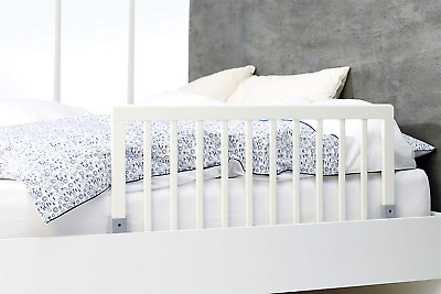BabyDan Wooden Bed Guard White