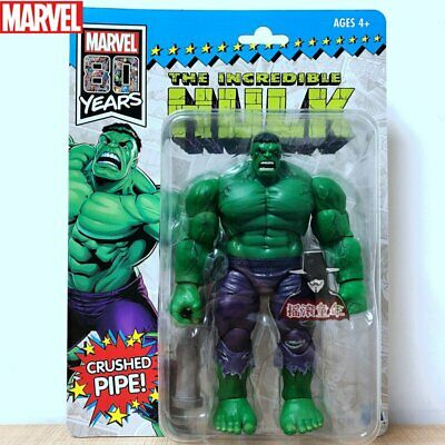 """Hasbro Marvel Legends 6"""" 80th Year Hulk 2019 SDCC Exclusive Ver. New"""