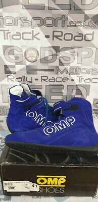 OMP Costa Smeralda 2 FIA Approved Boots  Blue  Size 41 (UK 7)