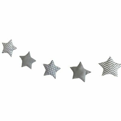 Nordic Stars And Moon String Ornaments Children's Room With Decoration 5 fD