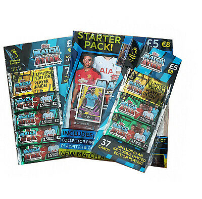 Topps Match Attax Trading Card Starter Pack bundle new limited edition 20£ RRP