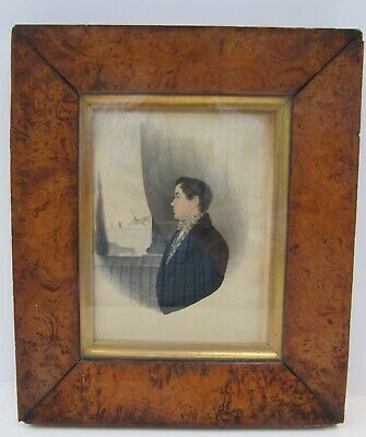 19th CENTURY, Watercolour, PORTRAIT MINIATURE - 'ALFRED MARTIN, Aged 16', c.1830