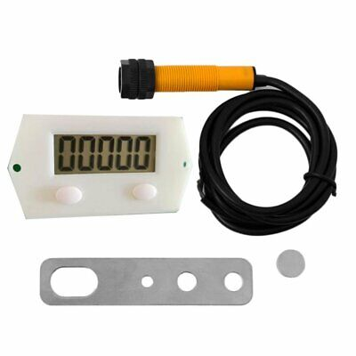 Digital Punch Electronic Counter Magnetic Inductive Proximity Switch Magnet+%