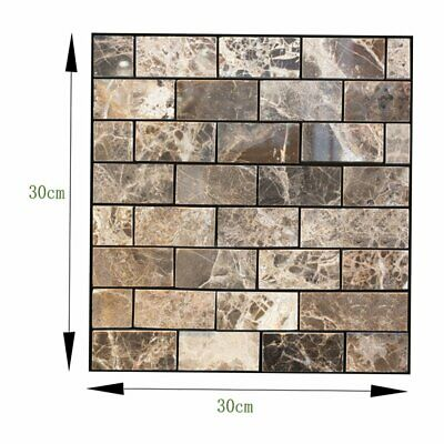 Modern 3D Style Tiles Waterproof Self-adhesive Stickers Home Bathroom Kitchen+%