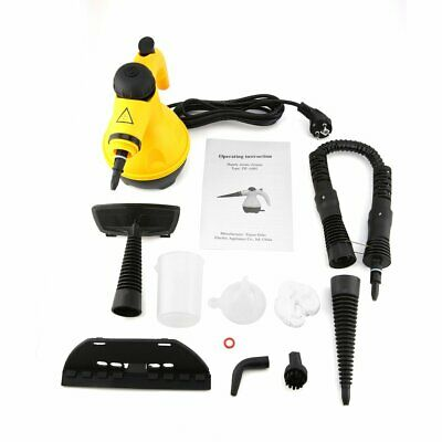 Electric Steam Cleaner Portable Handheld Steamer Household Cleaner Tool+%