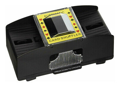 Easy to Use, Just Press Down the Button to Operate Card Shuffler
