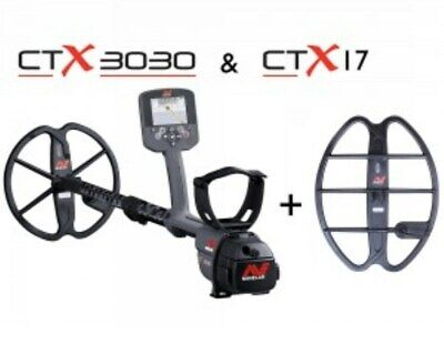 "NEW Minelab CTX 3030 Metal Detector Inc 17""X13"" Coil + Cover - DETECNICKS LTD"