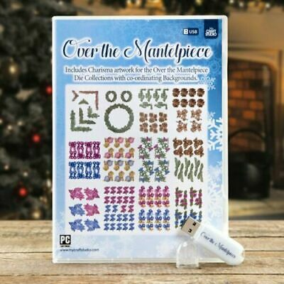 Tattered Lace My Craft Studio Over The Mantelpiece USB Charisma Christmas 471174