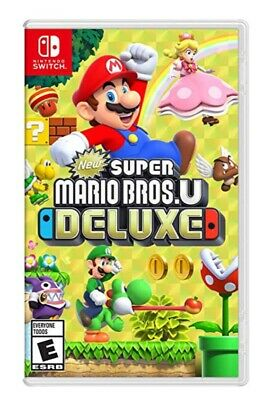NEUF - New Super Mario Bros U Deluxe - Nintendo Switch - Français