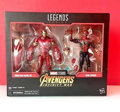 Hasbro Marvel Legends - MCU Avengers- Iron Man Mark 50 // Iron Spider - Sealed