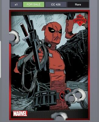 Topps MARVEL COLLECT Digital Card Deadpool showcase #5