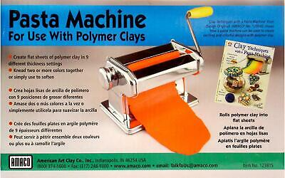 Amaco 12381S Pasta Machine For Clay