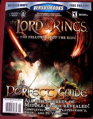 LORD of the RINGS UNPUBLISHED NEVER FOR SALE Versus Books PERFECT Guide 48