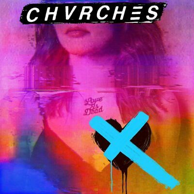 "CD CHVRCHES ""LOVE IS DEAD)CD)"".New and sealed"