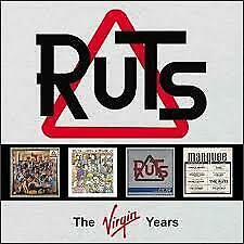 """4CD THE RUTS """"THE VIRGIN YEARS  """".New and sealed"""