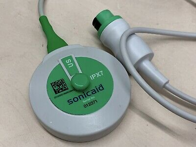 1.0 Mhz Ultrasound Transducer for Sonicaid Team - Green