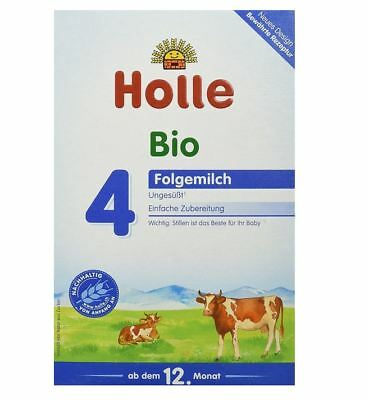 10 x HOLLE STAGE 4 - ORGANIC BABY FORMULA FROM GERMANY - 10 x 600 g