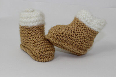 46d642cd56f EASY BABY BOOTIES Boots Shoes Gift Ugg Knitting Pattern Free Penguin ...