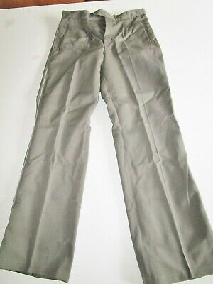 VINTAGE EAST GERMAN army Military soldier Officer Uniform trousers pants NVA M44