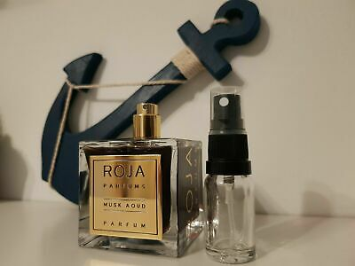 Roja Dove Musk Aoud Parfum Decant Sample