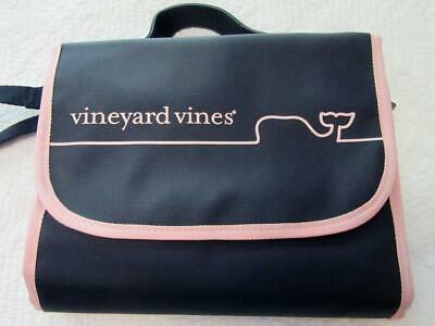 Vineyard Vines for Target Boutique Line Baby Changing Pad WHALE LINE Navy/Pink