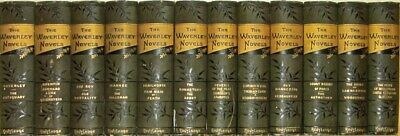 SIR WALTER SCOTT Works!THE WAVERLY NOVELS! VICTORIAN BINDINGS!non Leather 1800's