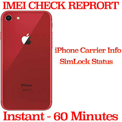 Apple iPhone Carrier Check Network SIM Lock Status GSX Checker Report Service