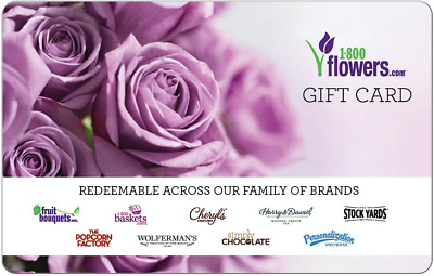 1-800-Flowers.com Gift Card - Email delivery