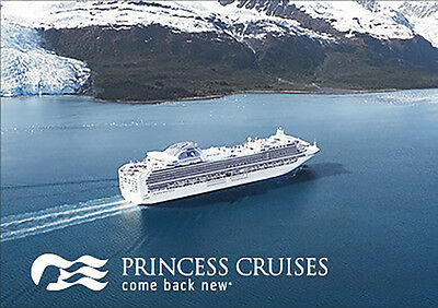 Princess Cruises Gift Card $25 $50 $100 - Email delivery