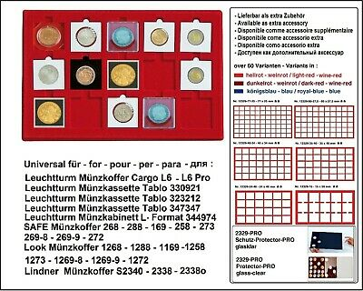Look 12329-15-50 of 15 Compartments 50 mm for Lighthouse Quadrum Coin Capsules