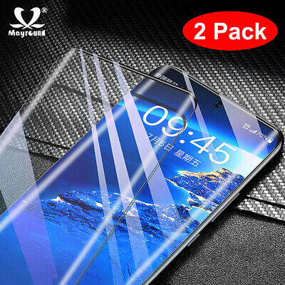 2x 6D Curved Tempered Glass Screen Protector For Samsung Galaxy Note 10/10 Plus